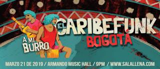 Concierto de CARIBEFUNK en Bogotá 2019