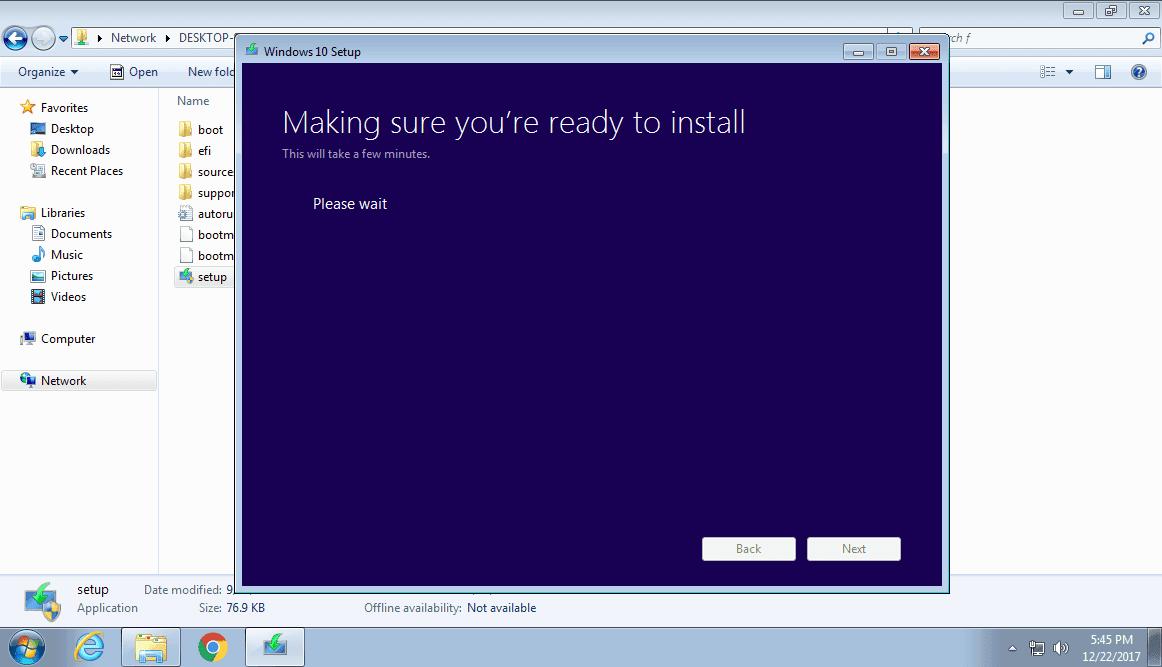 Các bước nâng cấp lên Windows 10 trực tiếp cho các máy tính trong cùng mạng Lan - Ảnh 7