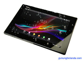 Cara Flashing Sony Xperia Tablet Z WiFi SGP312