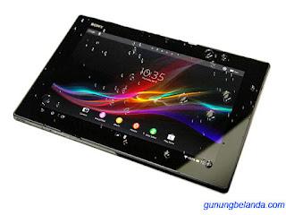 Cara Flashing Sony Xperia Tablet Z WiFi SGP312