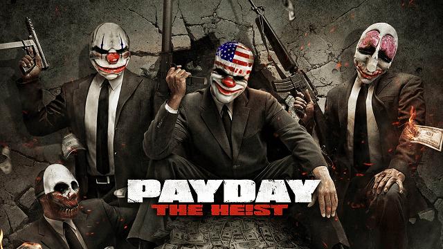 Karakter dalam game Payday identik dengan topeng badut