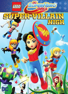 Lego DC Super Hero Girls Super-Villain High 2018 DVD R1 NTSC Latino