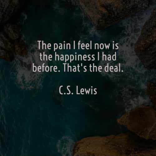 C.S. Lewis quotes about an inspirational life lesson