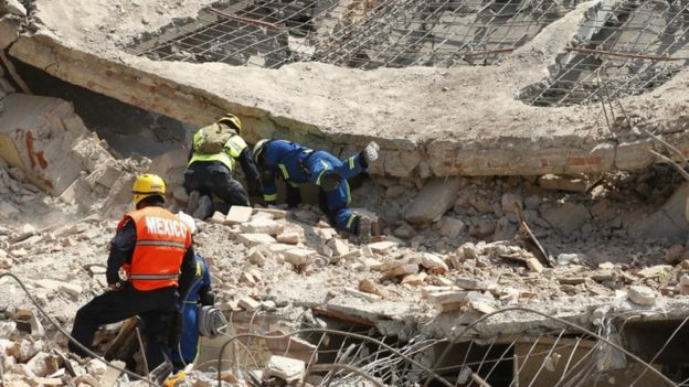 Mexico earthquake: Death toll rises to 90