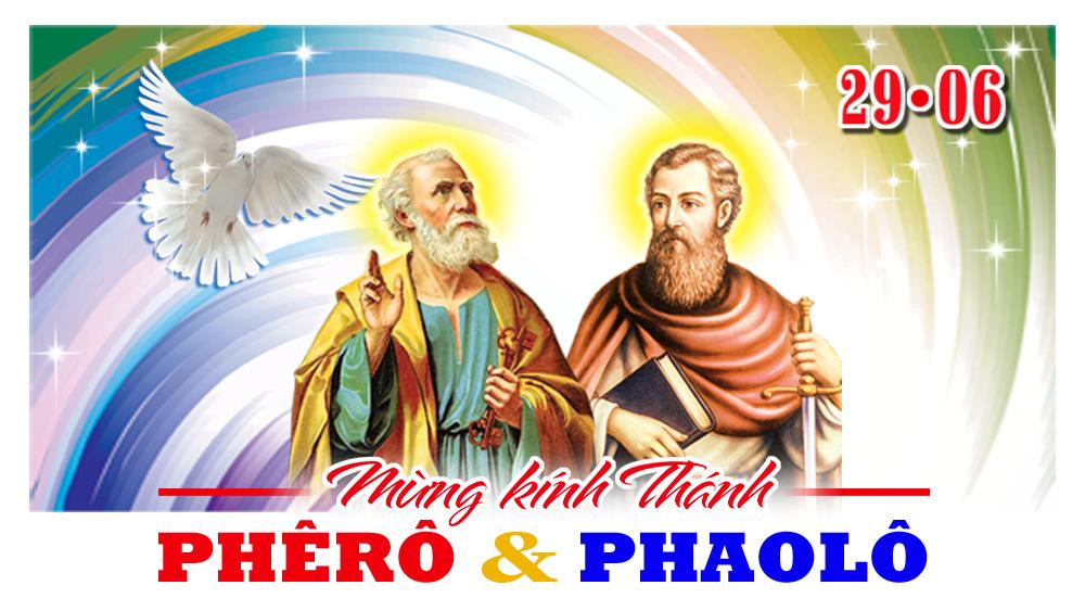 + 29/06 - Thứ bảy. Lễ thánh Phêrô và Phaolô, tông đồ.