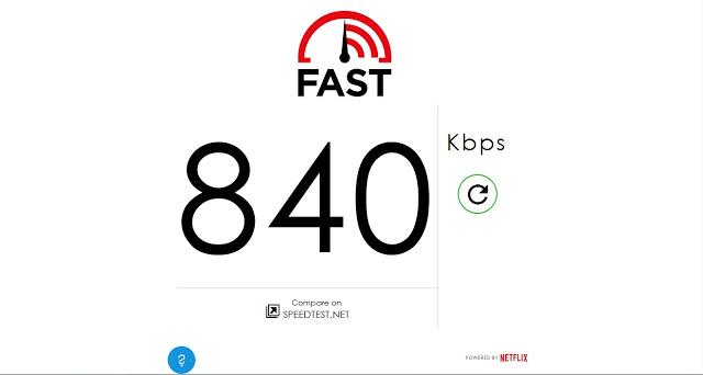 تعرف على السرعة لاتصالك بالإنترنت ببساطة وشفافية