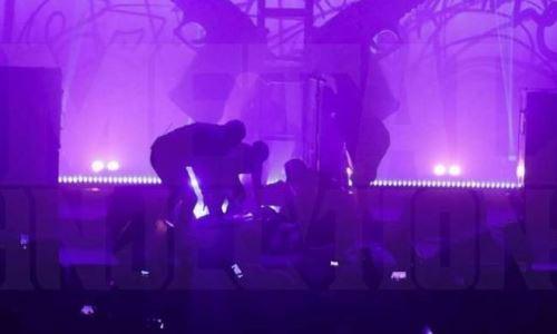 Ο Marilyn Manson τραυματισμένος στη σκηνή