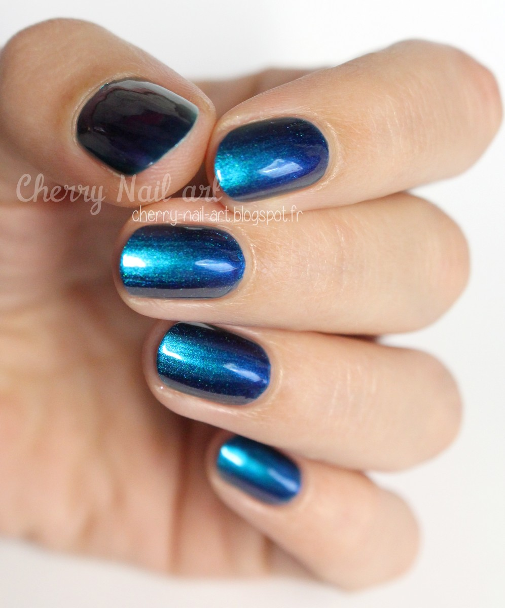 vernis color club 05ALS17 it's raining men collection oil slick