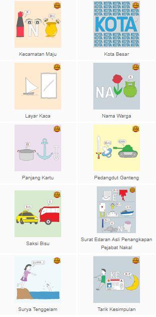 Kunci Jawaban Tebak Gambar Level 10 Terbaru Beserta Gambarnya Belajar Cerdas