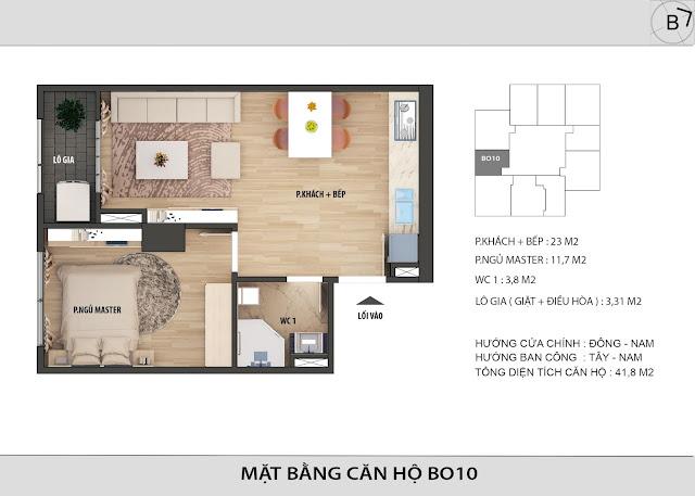 Chi tiết căn hộ B10