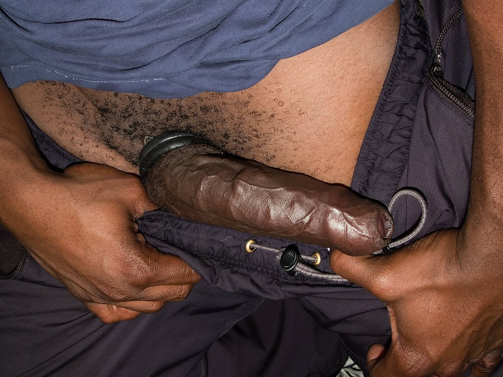 Big black dick with trailer