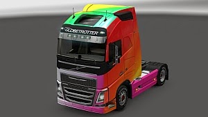 Colordose skin for new Volvo FH16
