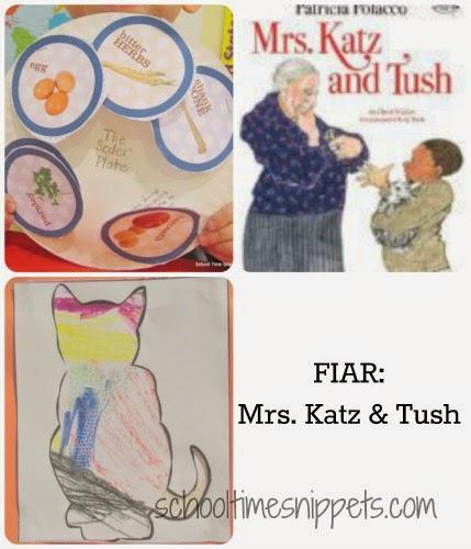 Mrs. Katz & Tush Five in A Row Literature Unit