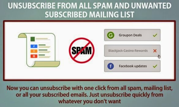 Stop/Block/Unsubscribe from All SPAM/Unwanted Email List