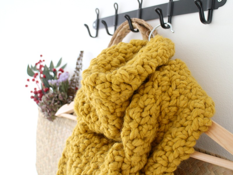 Give Super Giant Chunky Crochet Scarf Tutorial Owl And Accordion