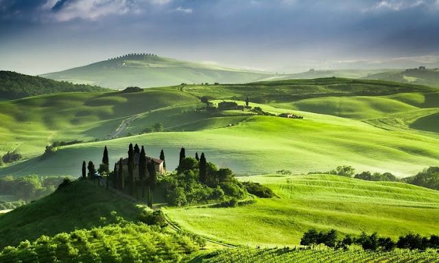 Viagem de carro pela Toscana na Itália