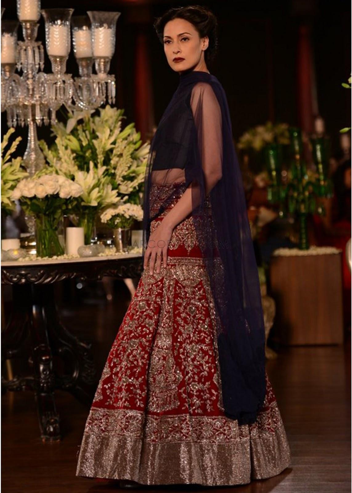 manish malhotra lehenga collection bridal designer ethnic delhi pcj couture week heavy inspired bythe silhouettes dress anarkali makeupandbeauty unknown posted