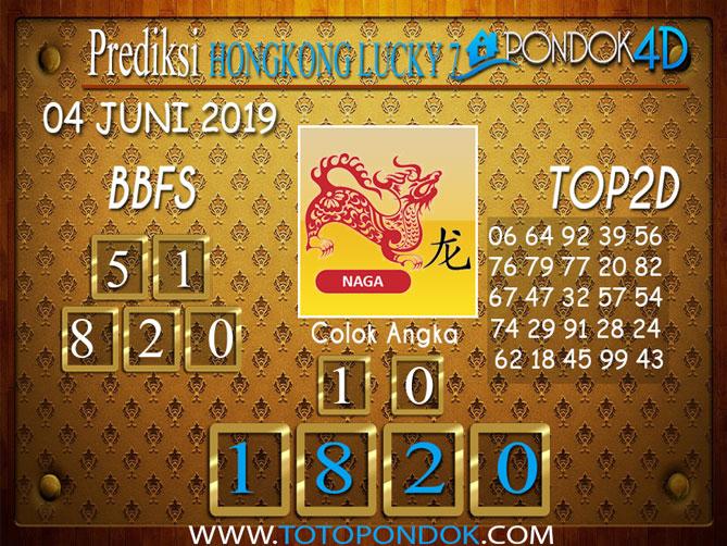 Prediksi Togel HONGKONG LUCKY 7 PONDOK4D 04 JUNI 2019