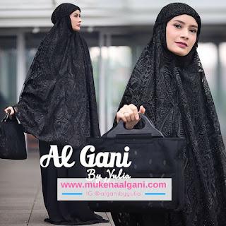 Milenia Koleksi Mukena Al Ghani Terbaru Original