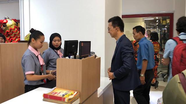Second Heromarket outlet in Johor .