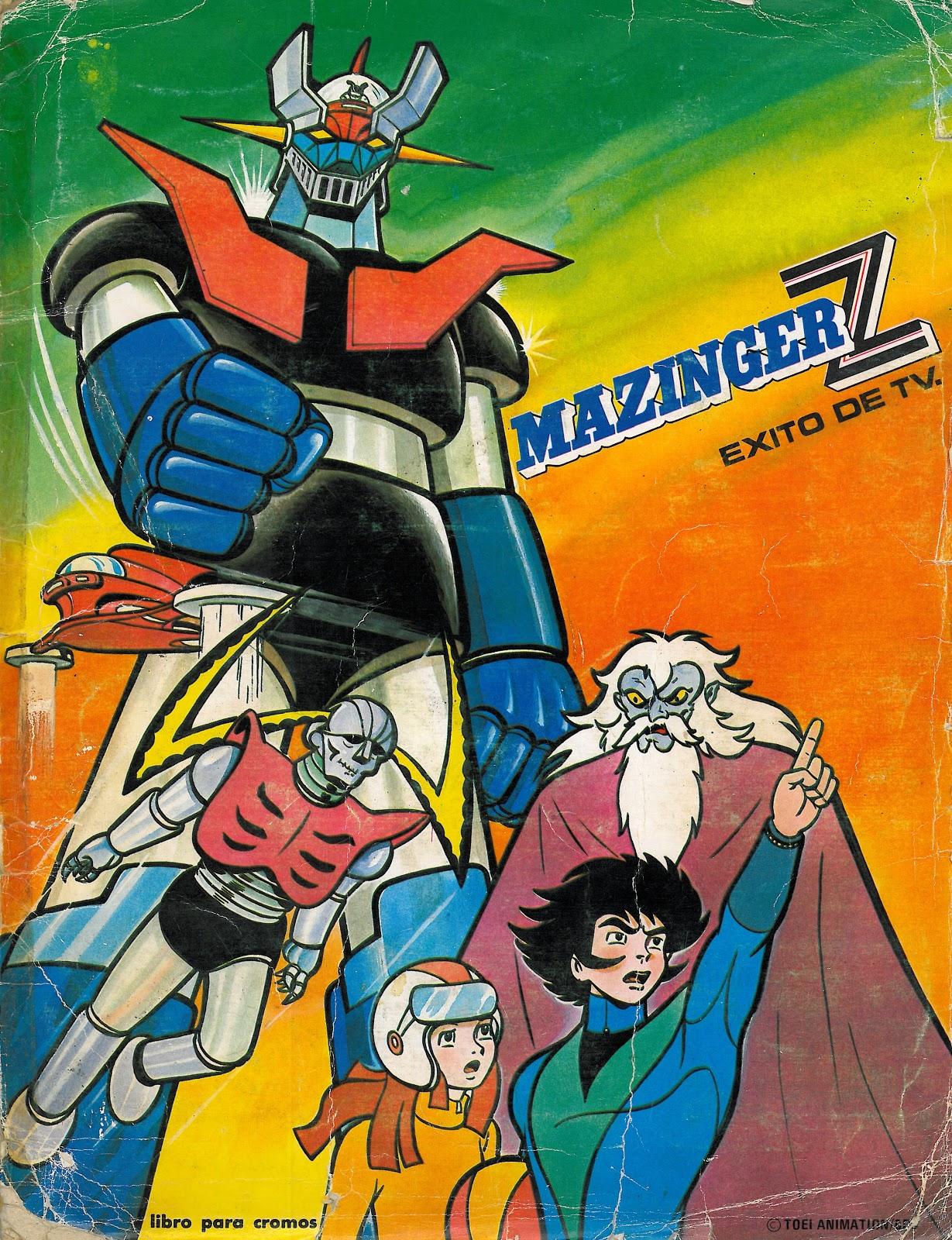 Resultado de imagen de mazinger z 1972 manga
