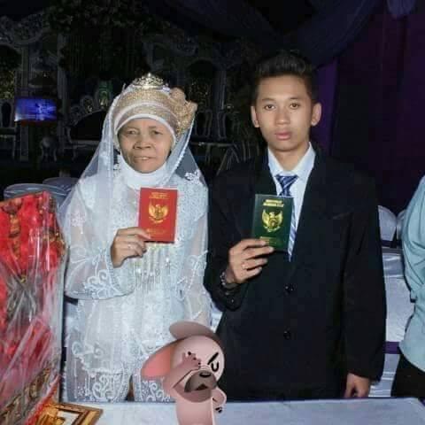 HEBOH MENGEMPARKAN ABG ganteng tamat SMA Rela nikahi wanita 52 tahun katanya sunnah rosul di MEDAN
