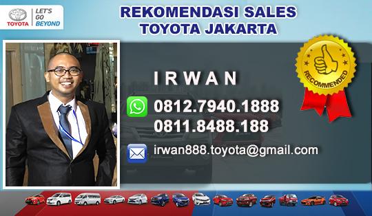 Rekomendasi Sales Toyota Hayam Wuruk Jakarta Pusat