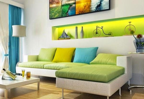 Desain ruang tamu ukuran 3x3 yang nyaman dan inovatif
