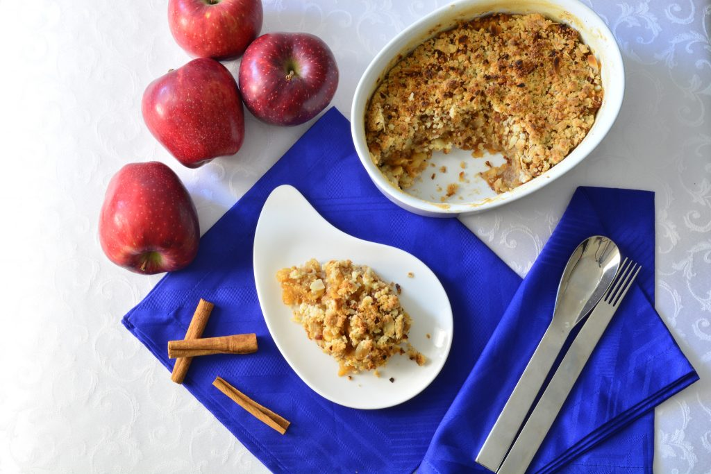 Thermomix Apple Crumble Recipe