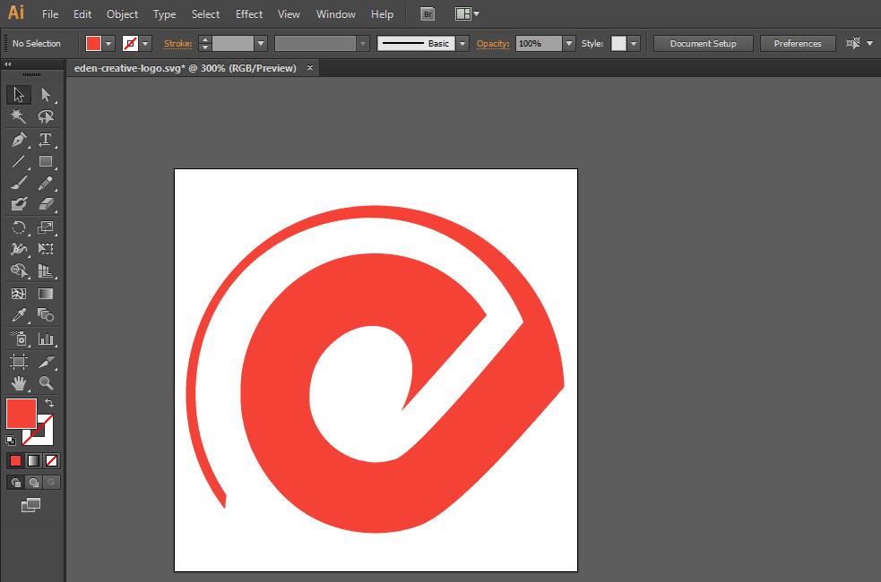 Svg Illustrator logo WEB