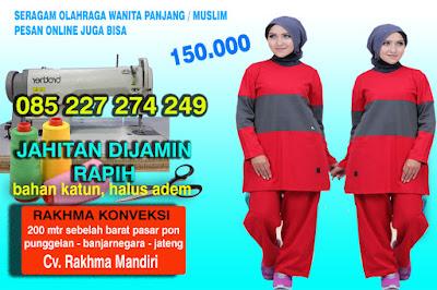 - baju olahraga - baju olahraga panjang - baju olahraga muslim - baju senam wanita - baju olahraga wanita - baju senam ibu ibu rakhma konveksi