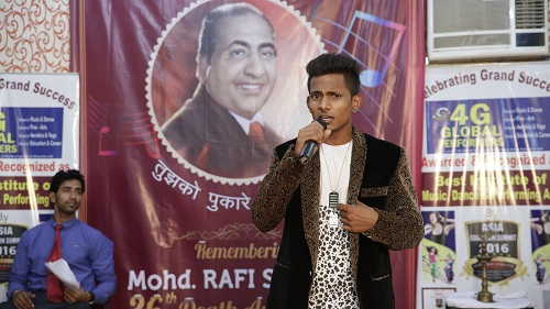 4GGlobalPerformers remembered the idol of Indian Playback Singing Mohd. Rafi Saab on his 36th death Anniversary