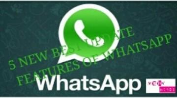Update Feature Of whatsapp