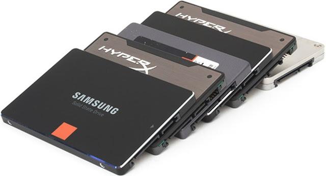 SSD-диски разных производителей