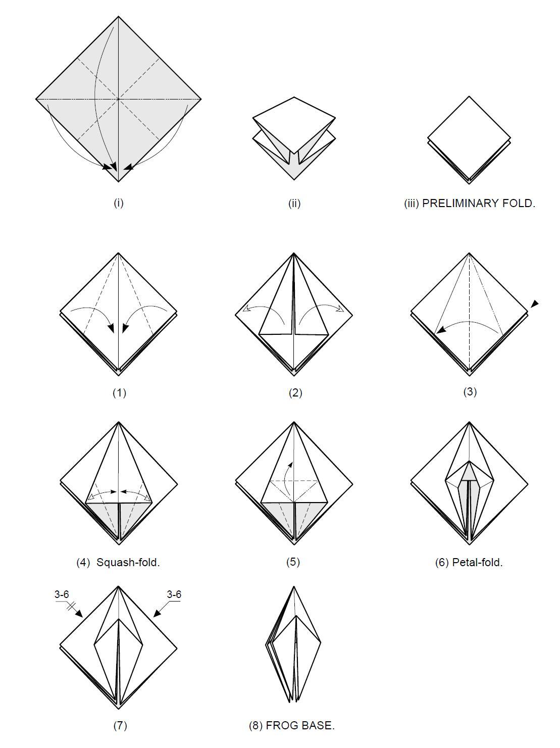Origami Figuras De Papel Instrucciones