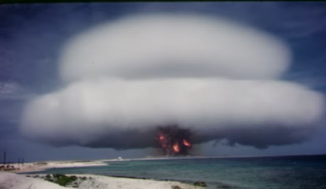 Dokumentasi Video Uji Coba Senjata Nuklir AS Sekarang Ada Di Youtube