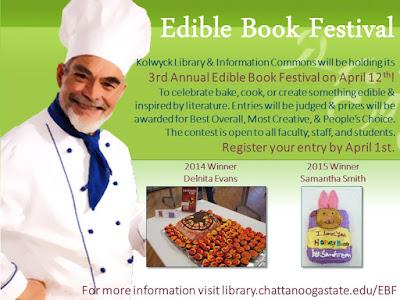 Edible Book Festival Flyer