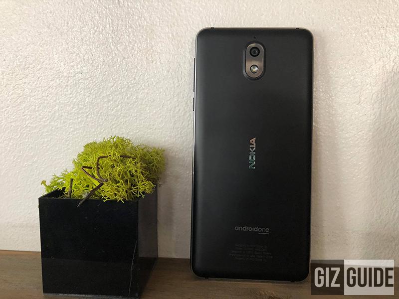 Nokia 3.1 back