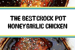 The Best Crock Pot Honey Garlic Chicken
