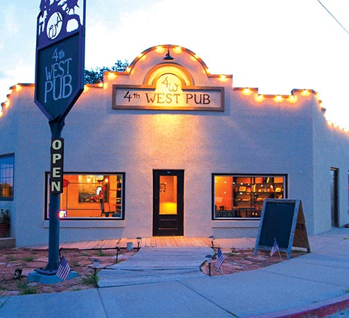 Best Place in Escalante, Utah to grab a Beer/Cocktail, 4th West Pub