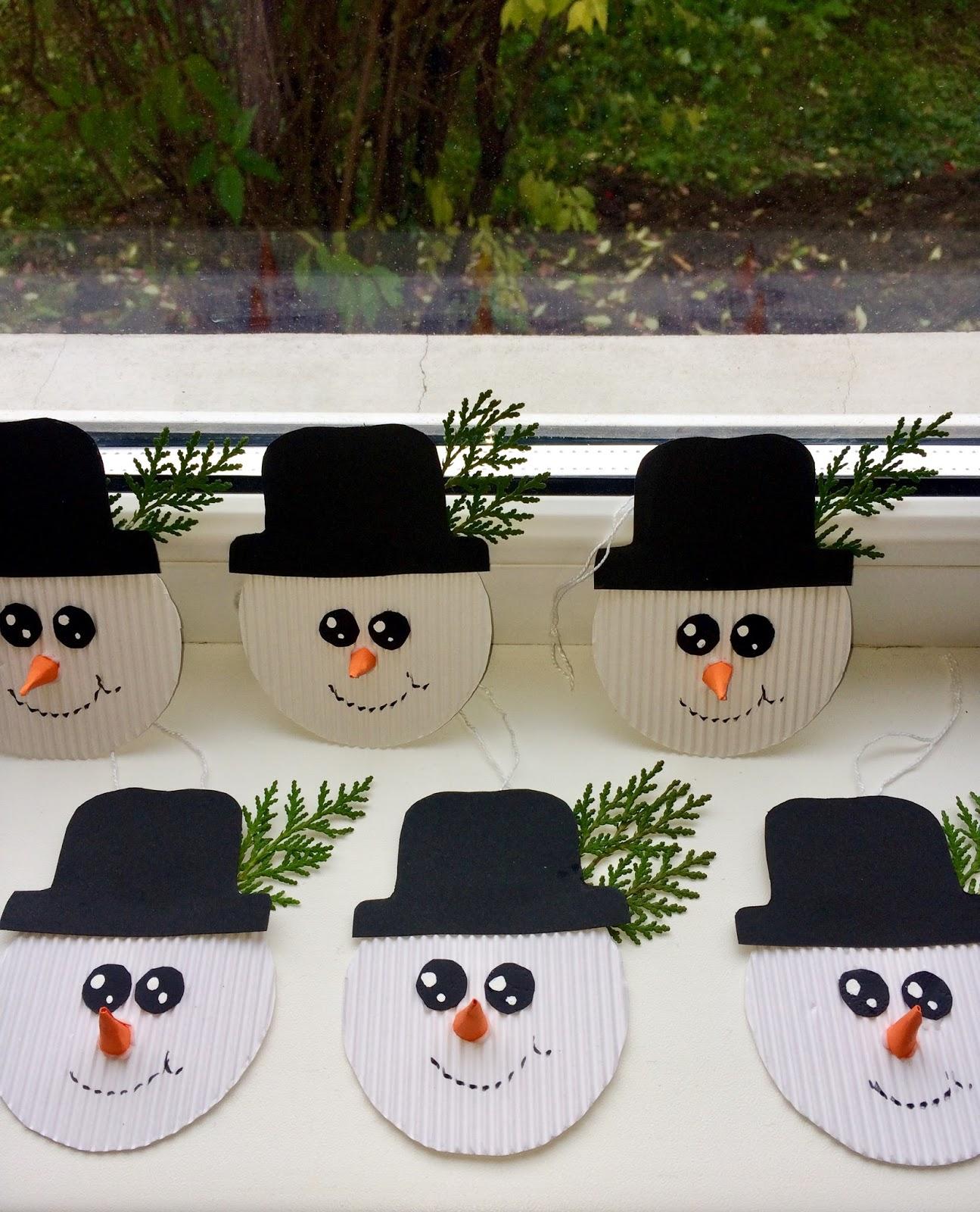 Om de zăpadă- ornament pentru brad