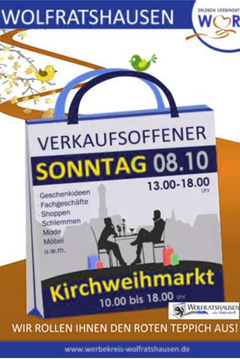 shops blog verkaufsoffener sonntag in wolfratshausen mit kirchweihmarkt am. Black Bedroom Furniture Sets. Home Design Ideas