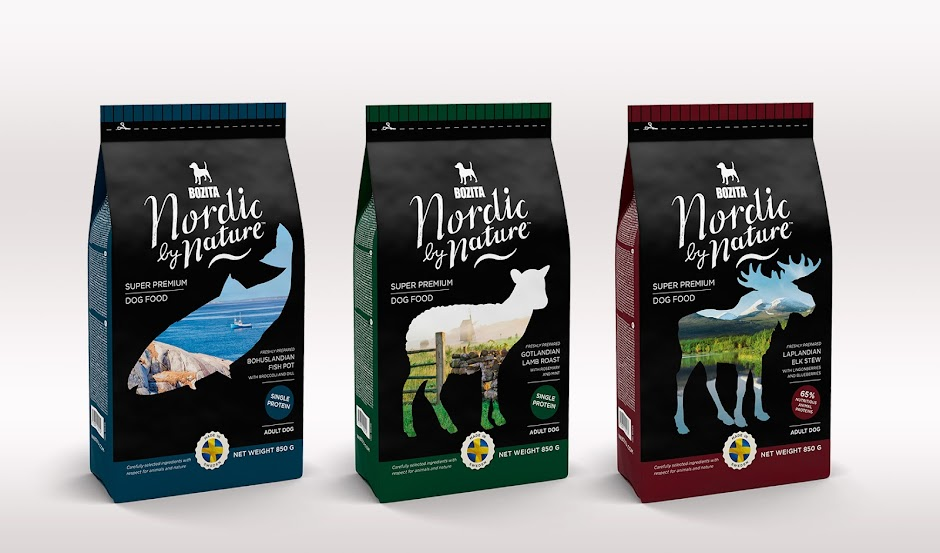 Bozita Nordic By Nature On Packaging Of The World