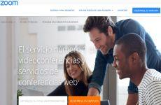 Zoom: aplicación para videoconferencias que permite reuniones online, clases con video y mensajería instantánea