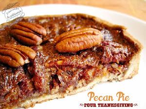 Tarte aux noix de pécan et sirop d'érable pour Thanksgiving