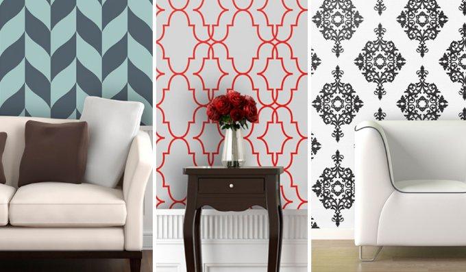 Peel And Stick Wallpaper  Istyleinteriorscom