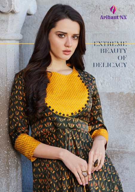 Krishwi Arihant Nx Party wear kurtis 2019 Best design