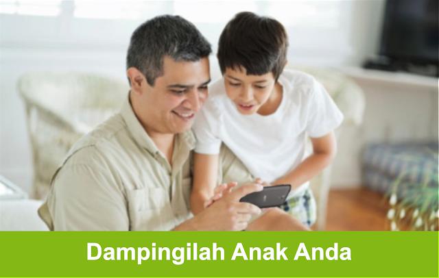 Tips Aman Untuk Orang Tua Kepada Anak Ketika Main Smartphone