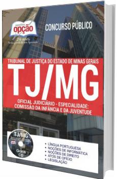 Apostila Concurso TJ-MG 2017 Oficial Judiciário
