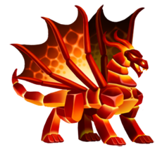 imagen del dragon magma